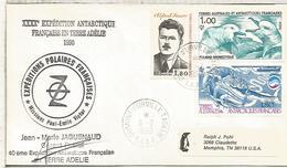 TAAF ANTARTIDA ANTARCTIC 1990 DUMONT D'URVILLE EXPEDITIONS POLAIRES - Estaciones Científicas