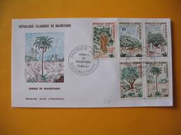 FDC  Mauritanie  1967 Arbres De Mauritanie - Mauritania (1960-...)