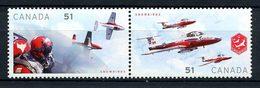 CANADA 2006 N° 2225/2226 ** Neufs MNH Superbes C 2 € Avions Planes Patrouille Snowbirds Armée De L'air Transports - 1952-.... Reinado De Elizabeth II