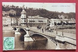 DINANT  L'HOTEL DES POSTES SULPONTE CALESSE E CARRO CON CAVALLI - Belgique