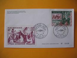 FDC  Mauritanie  1969    Philexafrique  Abidjan  N° 00458 - Mauritania (1960-...)