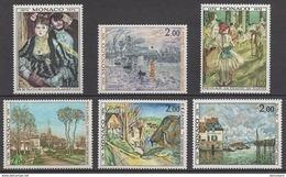 MONACO 1974 - SERIE N° 967 A 972 - 6 TP NEUFS** - Monaco