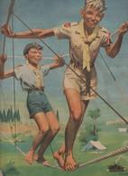 Calendrier Promotionnel/ SCOUTS De FRANCE/ Le Scout Est Fier De Sa Foi/ 1954       CAL398 - Calendars