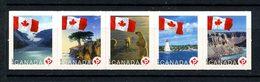 CANADA 2006 N° 2257/2261 ** Neufs MNH Superbes C 6 € Drapeaux Flags Paysages Faune Ours Phare Autoadhésifs - 1952-.... Règne D'Elizabeth II