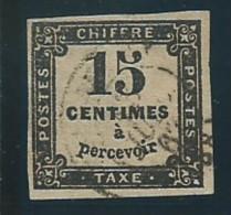 FRANCE: Obl., TAXE N°3B, TB - Portomarken