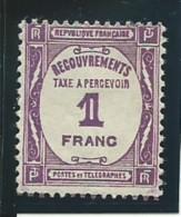 FRANCE: *, TAXE N°59, TB - Portomarken