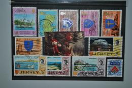 Grande-Bretagne/Jersey 1971/81 Oblitérés - Jersey