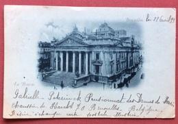 BRUXELLES  LA BOURSE  1899 - Belgique