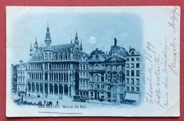 BRUXELLES  MAISON DU ROI  1899 - Belgique