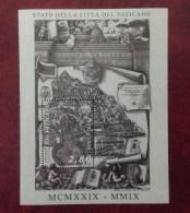 2009 VATICANO FOGLIETTO NUOVO STAMP NEW MNH** - 80° Anniversario Fondazione Stato Città Del Vaticano - - Blocchi E Foglietti