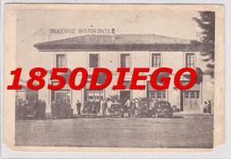 MONTEFIASCONE - ALBERGO RISTORANTE RISORGIMENTO F/GRANDE VIAGGIATA 1950 ANIMATA - Viterbo