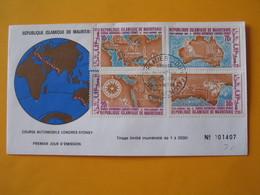 FDC  Mauritanie  1969   Course Automobile Londres-Sidney - Mauritania (1960-...)
