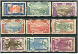 Martinique (1927) N 120 à 128 * (charniere) - Martinica (1886-1947)