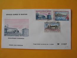 FDC  Mauritanie  1969   Développement Economiques - Mauritania (1960-...)