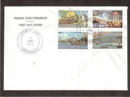BR - JAMES COOK - PO534/537 Sur FDC Du 16 JANV 1979 BRAZZAVILLE. - Congo - Brazzaville