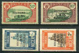 Niger (1941) N 89 à 92 * (charniere) - Niger (1921-1944)