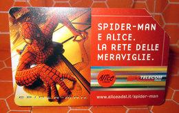 TELECOM € 5.00 SPIDER MAN 2004  SCHEDA TELEFONICA  USED - Italia