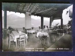 LOMBARDIA -COMO- RISTORANTE CROTTONE CONSIGLIO DI RUMO -F.G. LOTTO N°244 - Como