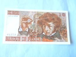 A  Vendre Billet De 10 Francs  Berlioz Neuf N° 01273  A 242 Du 02.10.1975 ( Voir Détails Svp) - 1962-1997 ''Francs''