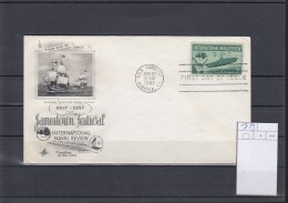 USA Michel Cat.No. FDC Adressed 713 - Premiers Jours (FDC)