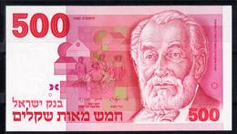 ISRAEL 1982   500   SHEQALIM .ANVERSO: UN POLITICO REVERSO UVAS .NUEVO PLANCHA   B1244 .VER FOTO - Israel