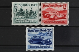 Deutsches Reich, MiNr. 686-688, Falz / Hinge - Ungebraucht