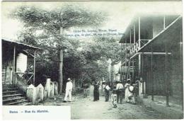 Congo. Boma. Rue Du Marché. - Belgisch-Congo - Varia