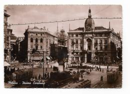 MILANO - PIAZZA CORDUSIO - VIAGGIATA FG - Milano