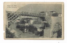 PONTE NELLE ALPI - IL PONTE PROVVISORIO 1920  - VIAGGIATA FP - Belluno