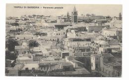 TRIPOLI DI BARBERIA - PANORAMA GENERALE  NV FP - Libye