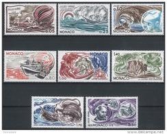MONACO 1978 - SERIE N° 1125 A 1132 - 8 TP NEUFS ** - Monaco