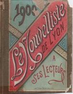 PRESSE/ Petit Calendrier De Poche/Le Nouvelliste De Lyon/Le Commandant Marchand à Fashoda/ Dôle/Jura/1900      CAL401 - Petit Format : ...-1900
