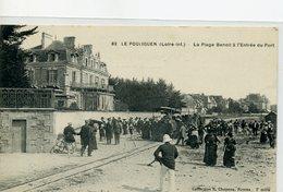 44 - LE POULIGUEN - La Plage Benoit à L'Entrée Du Port - Le Pouliguen