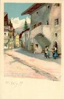 Sarnthein Bei Bozen Strassenbild - Italia