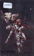 MANGA * Carte Prépayée Japon * ARGENT * MANGA METAL GEAR SOLID 2 * PHONECARD JAPAN (16.407) MOVIE * ANIME  COMICS - Comics