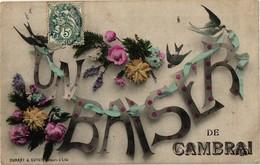 59 .. UN BAISER DE CAMBRAI .. - Cambrai