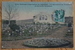 78 : Grignon - Ecole Nationale D'Agriculture - Le Laboratoire De Zootechnie Vu Du Jardin Botanique - Colorisée (n°13072) - Grignon