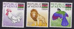 KENIA 1964 MLH - Animals - Kenia (1963-...)