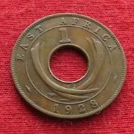 East Africa 1 Cent 1928 KN  Africa Oriental Afrique Afrika - Münzen