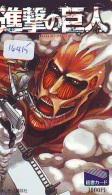 Carte Prépayée Japon * MANGA * ATTACK ON TITAN  (16.415)  COMIC * ANIME Japan Phonecard - Comics