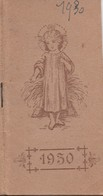 Religion/ Petit Calendrier De Poche/L'An De Grâce 1930/Année De La Canonisation De Ste Thérése/1930      CAL403 - Kalenders