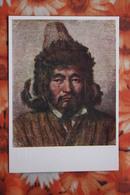 "RUSSIAN ART , Vereshagin  ""Kazakh Man"" -  OLD POSTCARD  - Kazakhstan - Kazakhstan"