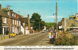 Llanfair PG Main Street Used 1975 Dennis A1216 [P0040/1D] - Anglesey