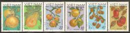 North Vietnam 1969 Mi# 588-593 Used - Fruits - Vietnam