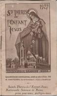 Religion/ Petit Calendrier De Poche/Sainte Thérése De L'Enfant Jésus/Coudekerque Branche/Nord/Vantorre/1937      CAL404 - Kalender