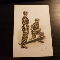Uniformes Belges Artillerie 1963 - Uniformes