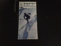 Dépliant Publicité Kitz-Buhel Ski - Dépliants Touristiques