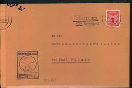 1940, Dienstbrief NSKK Motorbrigade Bayern Ostmark Regensbu - Deutschland