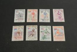 K15693 - Set MNh Dominicana 1957 -  Olympics Melbourne - Sommer 1956: Melbourne