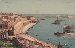 Malta Entrance To Port - Malta